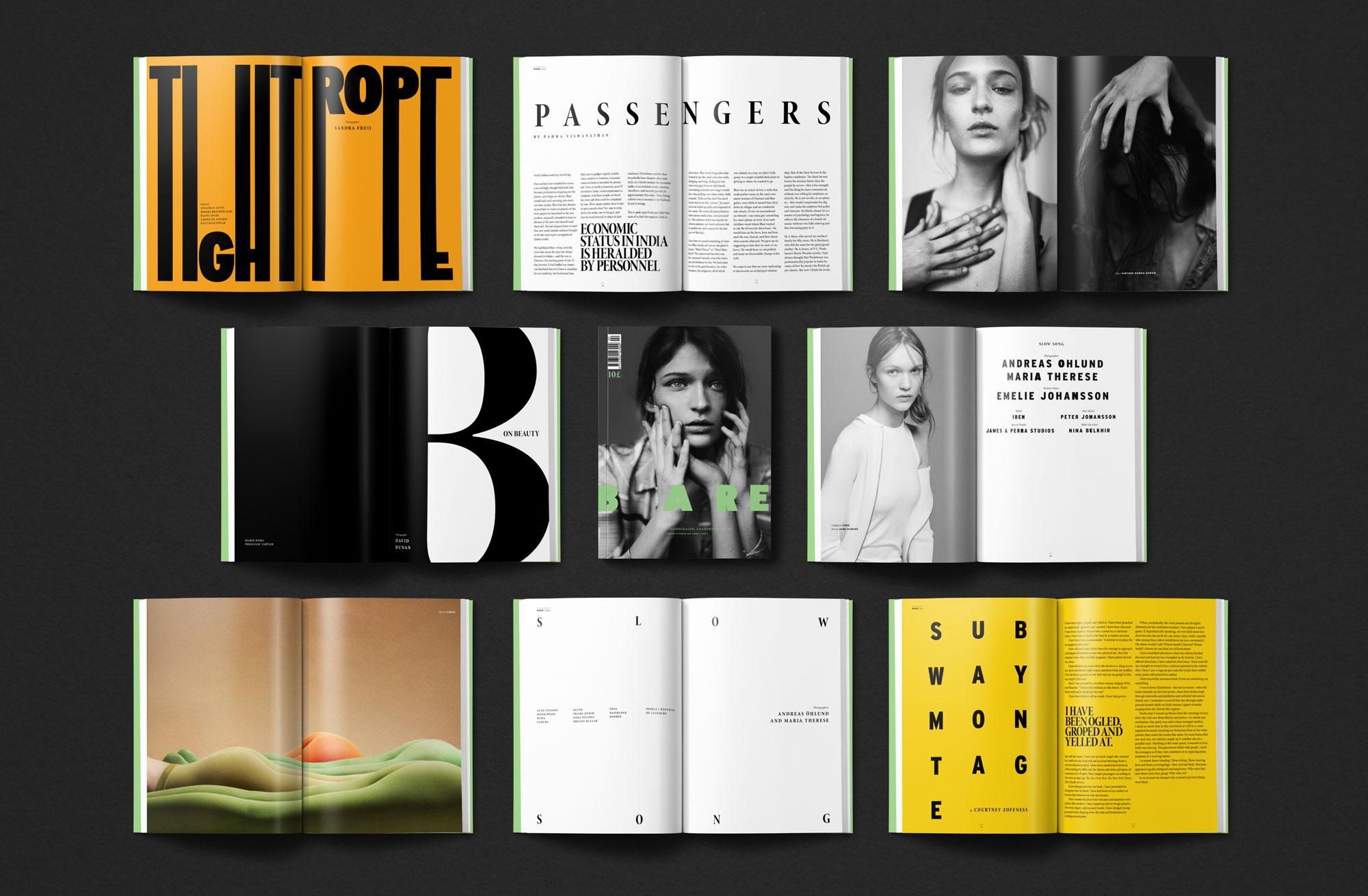 Bare Journal Alex Araez Freelance Graphic Designer Art